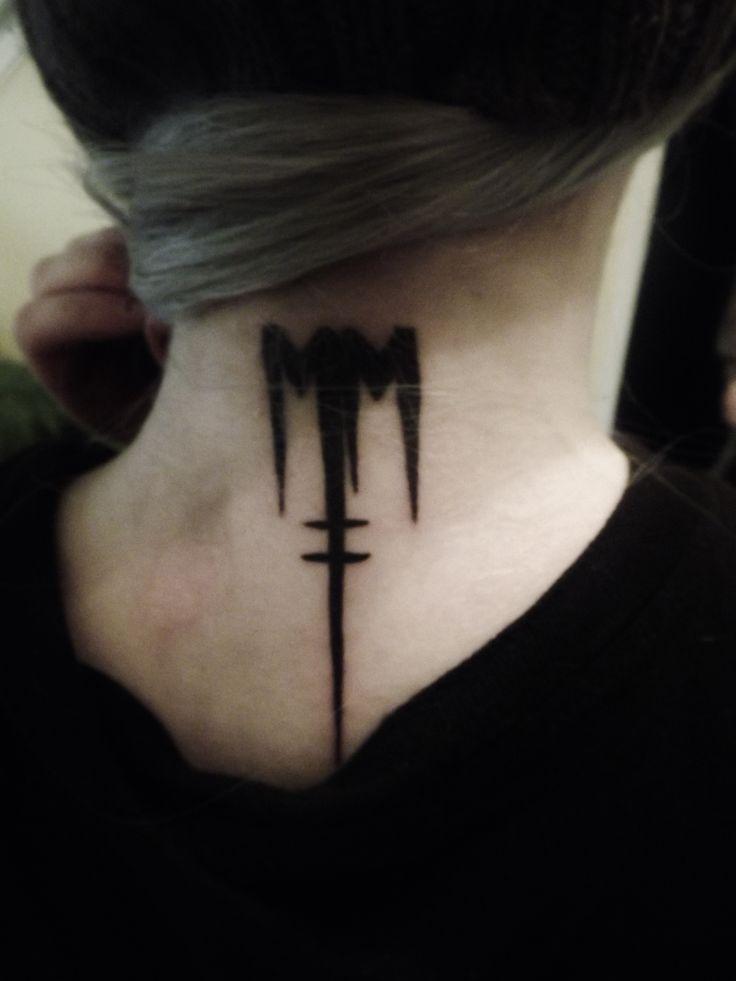 Marilyn Manson #bornVillain #MarilynManson #Tattoos
