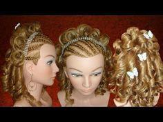 Peinados de XV Quince Años boda graduacion (lista de reproducción)