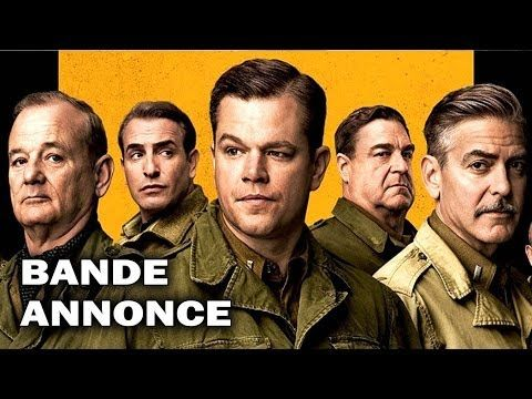 THE MONUMENTS MEN Bande Annonce VOST (2014)