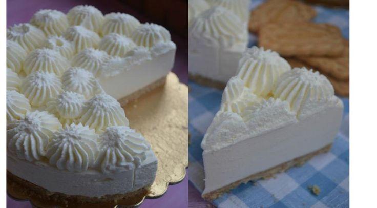 Торт-мусс со вкусом пломбира