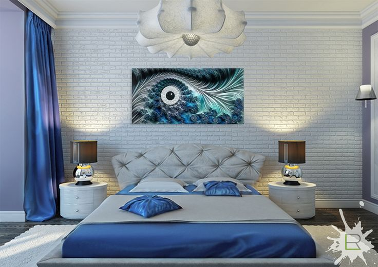 Obraz Abstrakcyjne oko