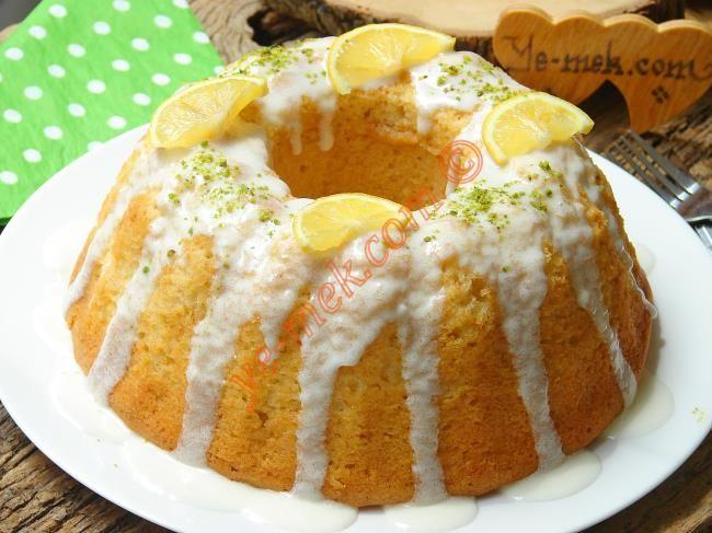 Limon Soslu Limonlu Kek Resimli Tarifi - Yemek Tarifleri