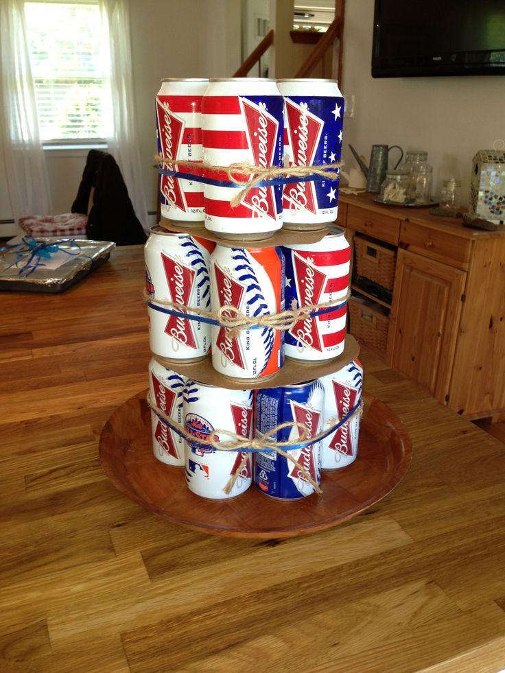 "Uncle Al's Budweiser birthday cake ""Redneck birthday cake"""