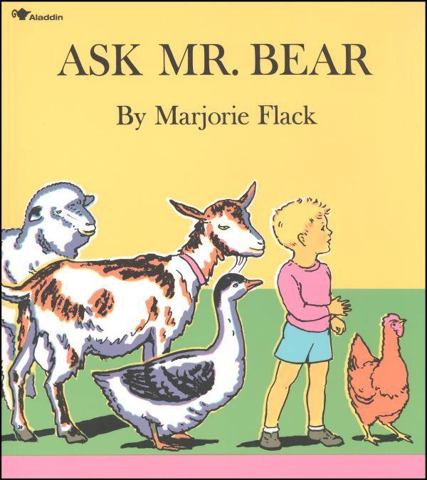 Preschool Adventure Box: B4FIAR Ask Mr Bear   angelicscalliwags
