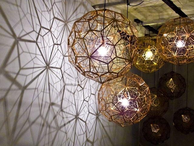 """Etch Light Web, Most (aka """"Tom Dixon's district"""") #milano #salonedelmobile"""