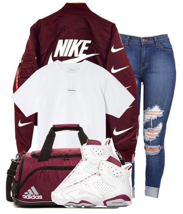 nike shoes Trill outfits on polyvore // Kathryn G