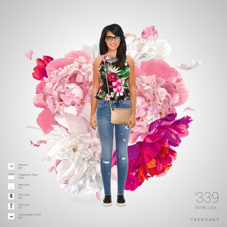 Fashion look with clothes from  New Look, Abercrombie & Fitch, Sunglasses Shop, Amazon.