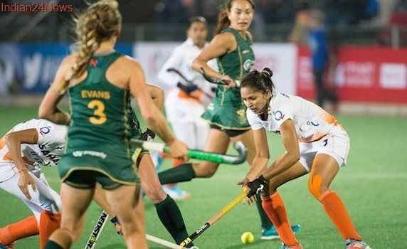 Women's Hockey World League Semi-Final: India hold South Africa to draw