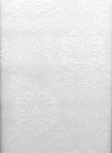 Brewster 429-6705 Paintable Solutions III Damask Paintable Wallpaper, 20.5-Inch by 396-Inch, White Brewster http://www.amazon.ca/dp/B003CALHTS/ref=cm_sw_r_pi_dp_0Qu-ub1NSRC1J