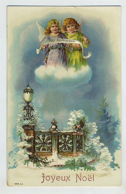 Vintage Christmas Greeting Ephemera Christmas