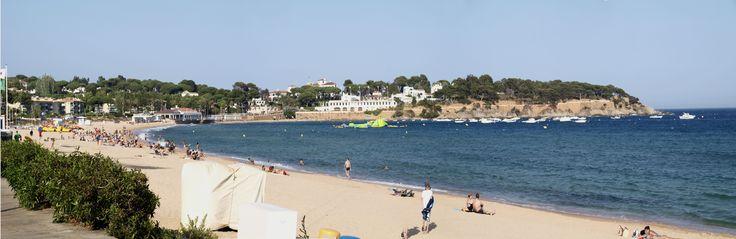 Playa de San Pol- SFG-al fondo Hostal La Gavina