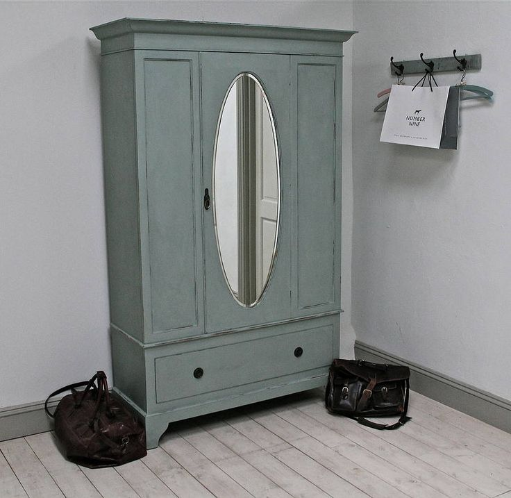 large painted vintage wardrobe by distressed but not forsaken | notonthehighstreet.com