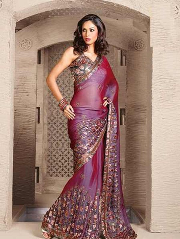 This sari is a mood board of various beautiful elements blending into each other. The Pallu is in net and is worked upon by a zari patchwork.@ http://www.shadesandyou.com/product-category/sarees/  #PartyWearSalwarKameez #BridalWeddingDress #BridalSaree #PartyWearSarees #WeddingSaree