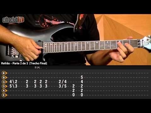 """Video aula de violão com o Gustavo( Fofão) do CifraClub com a música """"Bark At The Moon"""" – Ozzy Osbourne."""