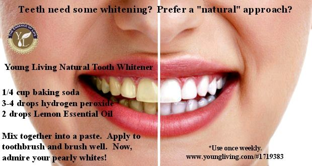 Get those pearly whites back with Young Living!