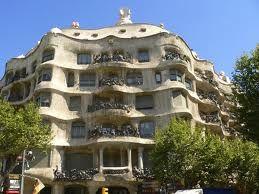 La Pedrera- Casa Mila by Antonio Gaudi