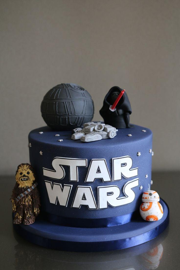 Star Wars Cake Afternoon Crumbs Star Wars Birthday