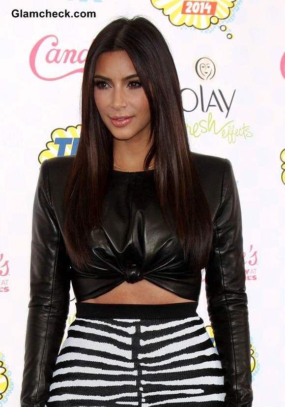 Kim Kadarshian's Edgy Fashion