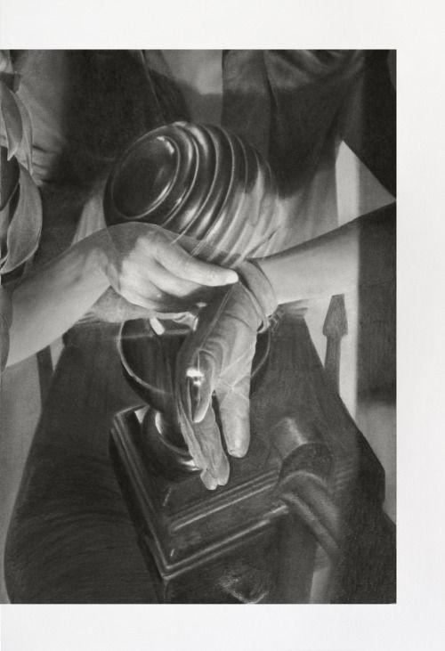 Tim Plamper, Handlung #02, 2015 Bleistift auf Papier, 50,5 x 34,5 cm, Kunstverein Eislingen.   Egbert Baqué Contemporary Art, Berlin.