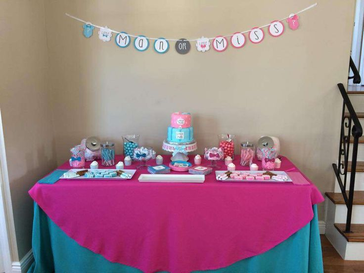Veronica's Gender Reveal | CatchMyParty.com