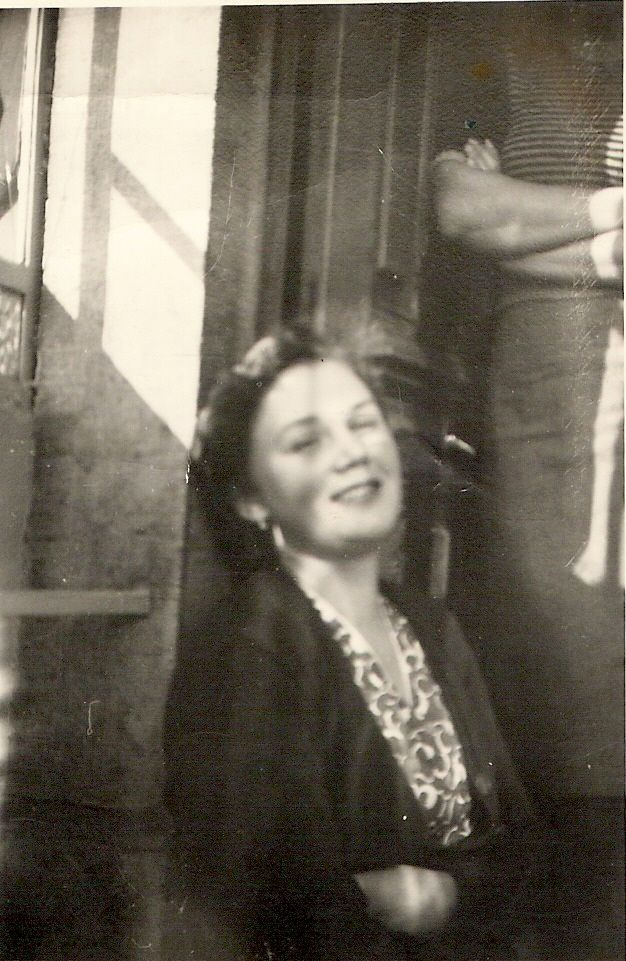 My mom in 1952