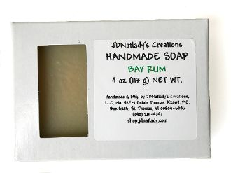 JDNatlady's Creations Bay Rum Soap