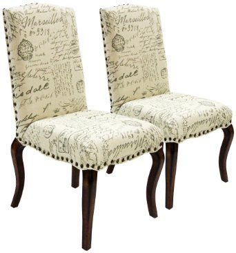 Best Amazon Com Set Of 2 Madeleine Vintage French Script 400 x 300