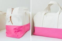 {lbg studio}: travel handmade: duffle bag pattern. For sale here: http://www.gingercake.bigcartel.com/product/make-your-getaway-duffle-children-and-adult-size