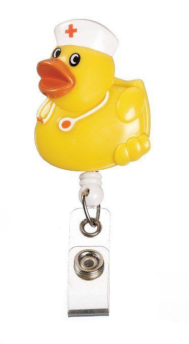Ausweis-Halterung, Design mit Krankenschwester-Ente