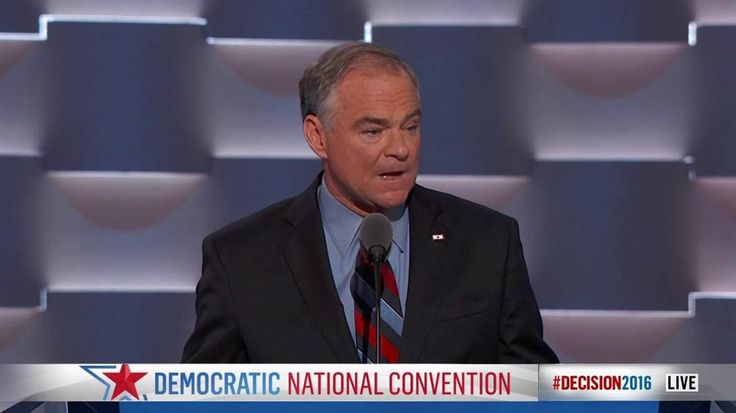 Vice presidential candidate Tim Kaine describes what's most important in his life: faith, family, and work.