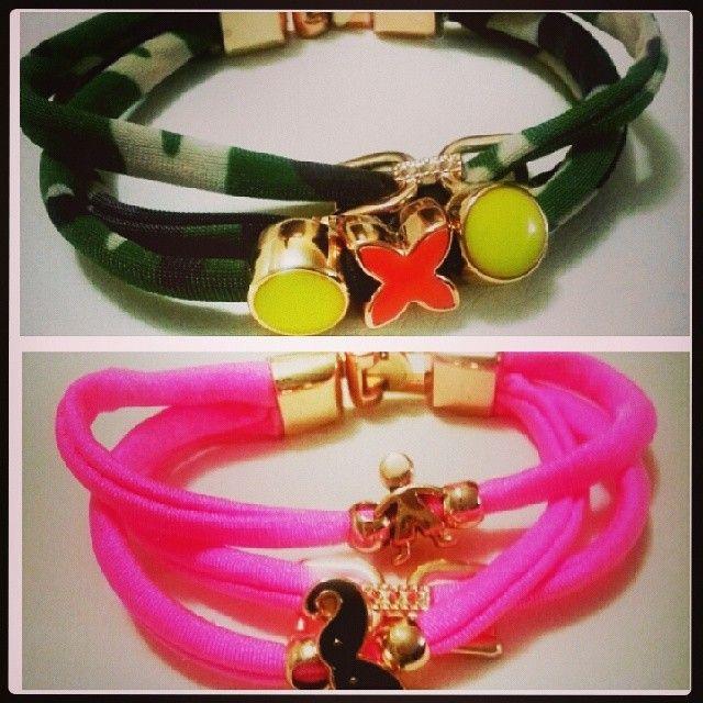 Bracciali in lycra #bracelet #byme #buybijoux #bracciali #accessori #color #diy #fattoamano #fashion  #followme #glam #gioielli  #handmade #instabuy #igersitaly  #instagrammers #instabeauty  #instashopping #instaitalia #like  #love #musthave #nicethings #outfit  #picoftheday #style Per info&costi mylovelycreation@libero.it