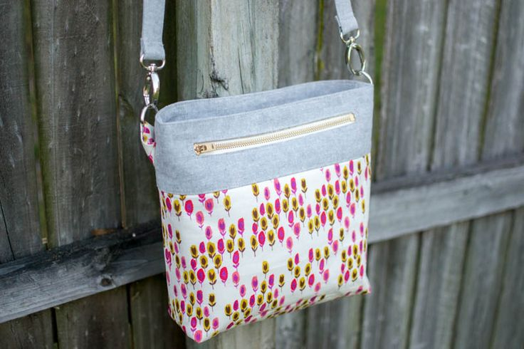 Pinterest UnTutorial Solved: My Convertible Cross-Body Tote — SewCanShe | Free Daily Sewing Tutorials