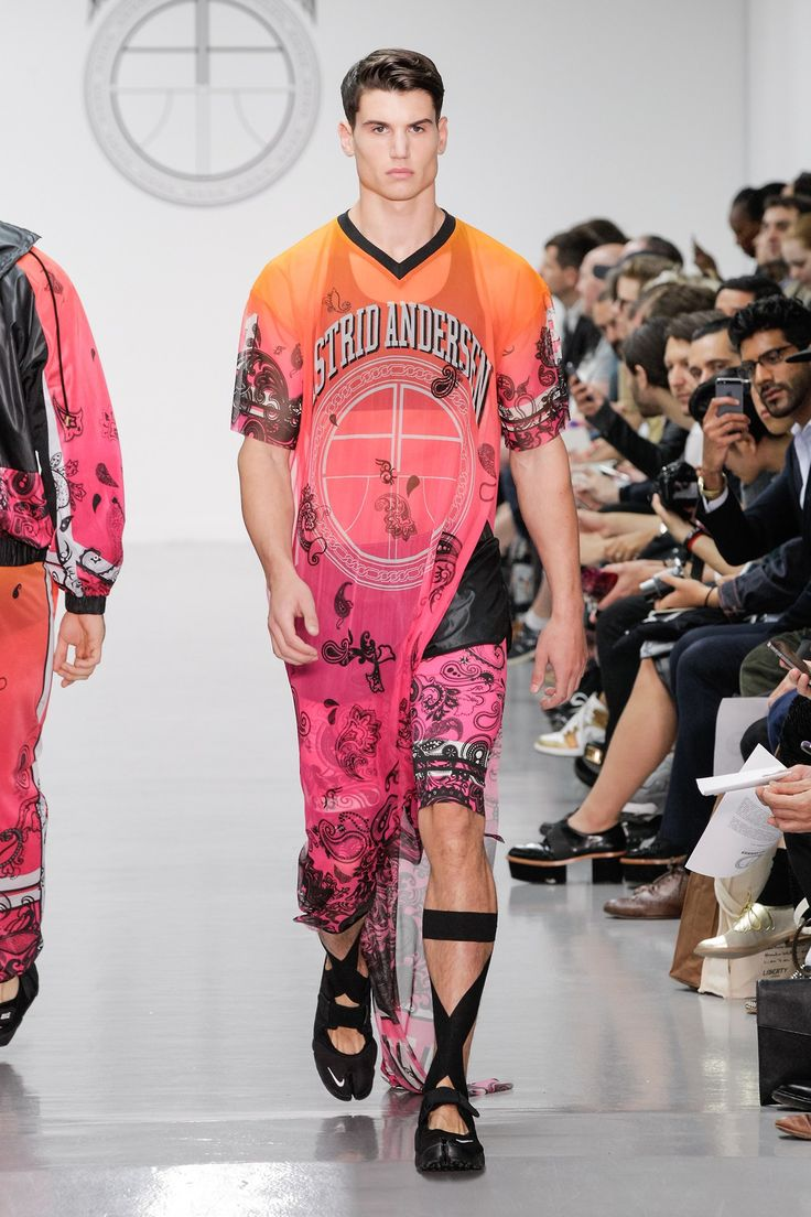 With Avery embellishments :) Astrid Andersen, spring/summer 2015 menswear collection