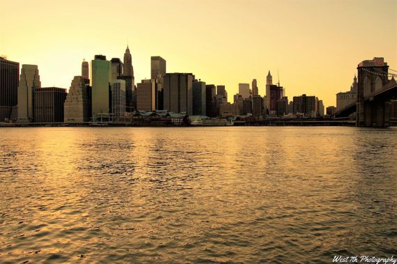 New York City Print Lower Manhattan by West7thPhotography on Etsy