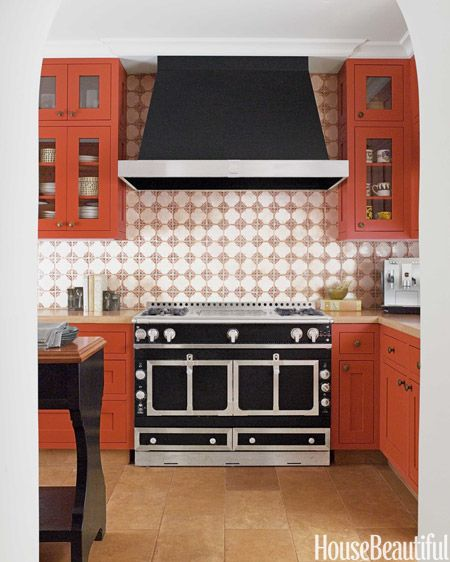 17 best images about son of dorn on pinterest burnt for Burnt orange kitchen cabinets