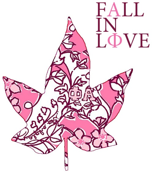 The Alpha Phi Lilly Print-- used SO creatively :).