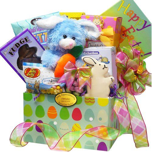 310 best easter images on pinterest chocolate gifts chocolates art of appreciation gift baskets easter bunny chocolate and candy care package box blue or negle Image collections