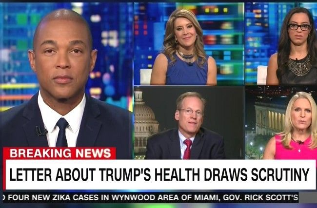 Media Horrified By Clinton Health Accusations, Treat Trump Health Accusations as…