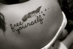 Free YourselfTattoo Ideas, Free, Birds Tattoo, First Tattoo, A Tattoo, Shoulder Tattoo, Feathers Tattoo, Cute Tattoo, Ink