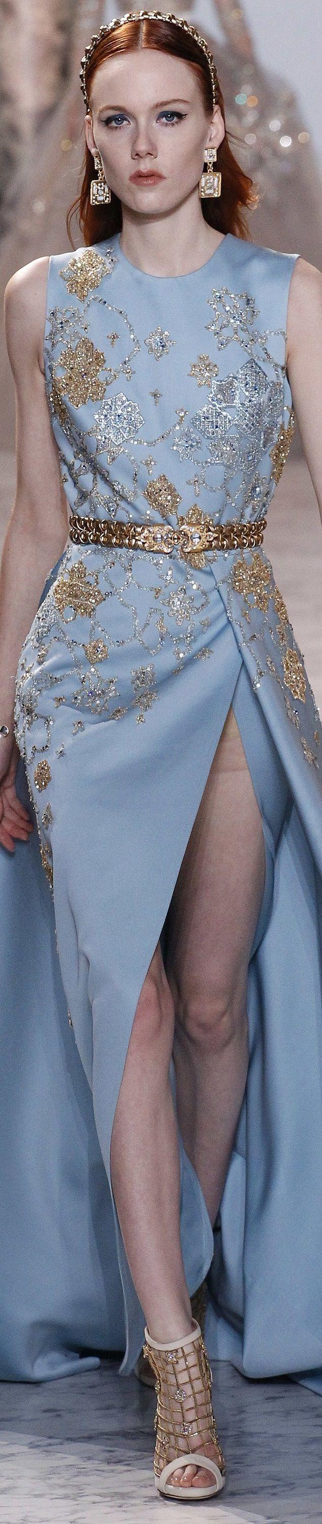 278 best elie saab images on Pinterest   High fashion, Fashion show ...
