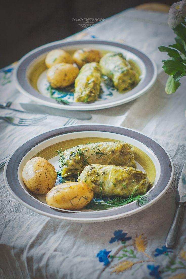 golabki - stuffed cabbage