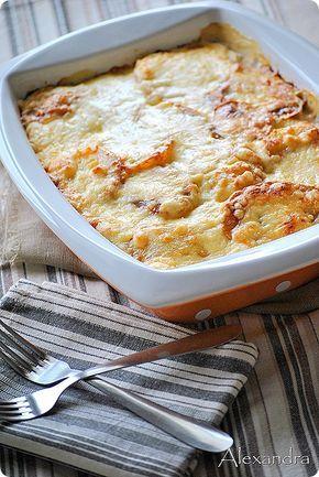 Σπανάκι με πατάτες ογκρατέν