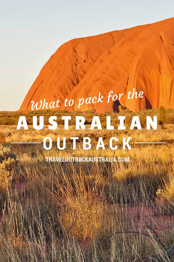 The essential list of what to pack for outback Australia holidays, written by experienced outback locals. All the items that the other lists miss are here