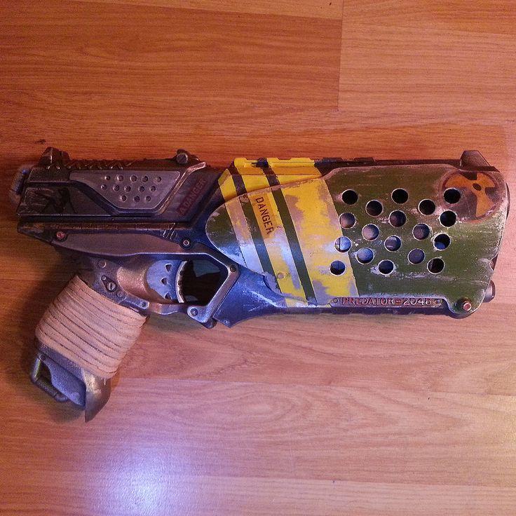 Nerf Strongarm: Final right side #Nerf #Modding #Blaster #DIY