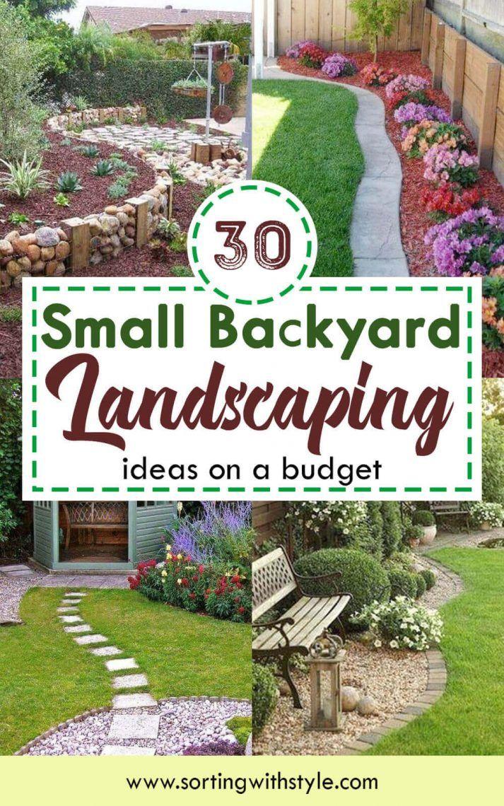 30 Small Backyard Landscaping Ideas On A Budget Beautiful Layout