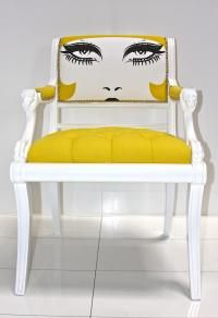 Custom Edward Chair   This chair would add a touch of whimsy to any room