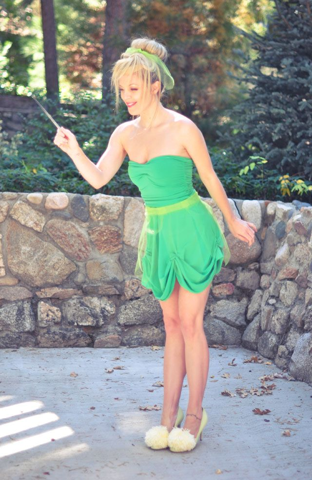 ADULT: DIY tinker bell costume - Really Awesome Costumes