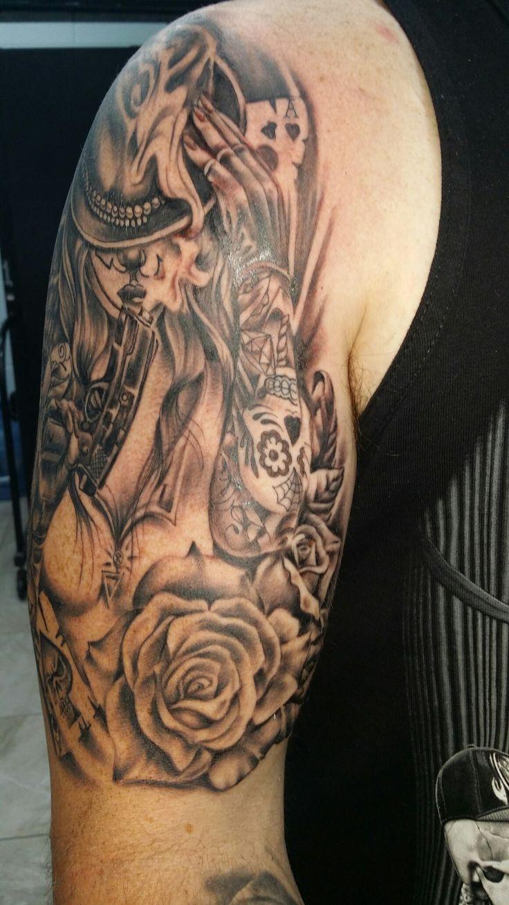 My original drawing #RobynGoller #tattoos #whitsundaytattoo #blackandgreytattoos #badassairbrushwhitsundays #blackandgreytattoo #blackandgreytattoodesigns #oldshopnotthenew #customnotcommon #Tattsgirlie #RobynGoller #whitsundaytattoo #tattoo #chicanoart #gangsta #tattoos