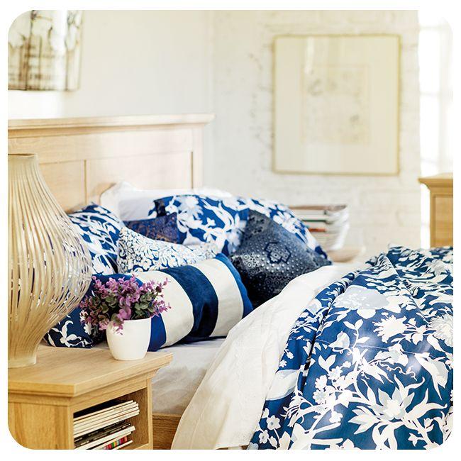 #Dormitorio #Azul #Indigo #Místico #Blanco #White #Blue #Wood #Madera #Bedroom #Mystical #Otoño