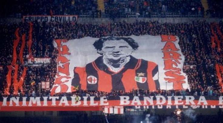Franco Baresi Curva sud Milano